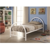 Silhouette Twin Bed, White