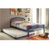 Cailyn Twin Bed, Blue