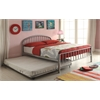 Cailyn Twin Bed, Silver