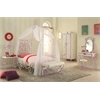 Priya II Vanity Set, White & Light Purple
