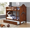 Classique Twin/Twin Bunk Bed, Cherry