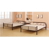 Bristol Full/Full Bunk Bed, Dark Brown