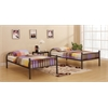 Bristol Twin/Twin Bunk Bed, Gunmetal