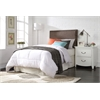 Sabina Twin Headboard Only, Brown Linen
