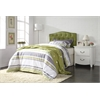 Viola Twin Headboard Only, Green PU