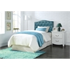 Viola Twin Headboard Only, Blue PU