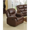 Fullerton Recliner (Motion), Brown Bonded Leather Match