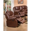 Fullerton Recliner (Power Motion), Brown Bonded Leather Match