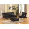 Frasier Adjustable Sofa, Black