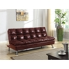 Tayte Adjustable Sofa, Burgundy PU