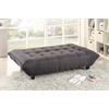 Baines Adjustable Sofa, Black Linen