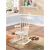 Kloris Youth Rocking Chair, White