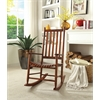 Laik Rocking Chair, Cherry Oak