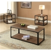 Kenton Coffee Table, Oak & Black