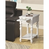 Alina Side Table, Ivory