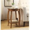 Alysa Side Table, Cherry