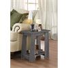 Falan Side Table, Dark Gray Oak