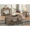 Xanti Side Table, Dark Taupe