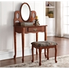 Aldine Vanity Set, Oak