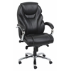 Nita Office Chair with Pneumatic Lift, Black Bonded Leather Match