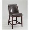 Valor Counter Height Chair (Set-2), Espresso PU & Espresso