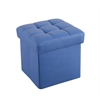 Kori Ottoman with Storage (Youth), Blue PU
