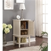 Hilda Side Table, White