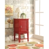 Hilda Side Table, Red