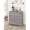 Tashia Chest (3 Drawer), Gray Oak