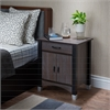 Calp Nightstand, Gray Oak