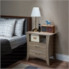 Colt Nightstand, Rustic Natural
