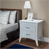 Babb Nightstand, White