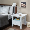 Delano Nightstand, White