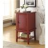 Hilda II Floor Cabinet, Red
