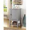 Hilda II Floor Cabinet, Gray