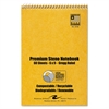 USDA Certified Bio Preferred Steno Book, Gregg, 6 x 9, 60 Pages, White, 12/Pack