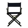 "18"" Director's Chair Black Frame-Navy Blue Canvas"