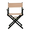 "18"" Director's Chair Black Frame-Tan Canvas"