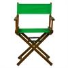 """18"""" Director's Chair Honey Oak Frame-Green Canvas"""