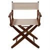 "American Trails Extra-Wide Premium 18""  Directors Chair Mission Oak Frame W/Natural Color Cover"