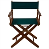 "American Trails Extra-Wide Premium 18""  Directors Chair Mission Oak Frame W/Hunter Green Color Cover"