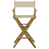 "American Trails Extra-Wide Premium 30""  Directors Chair Natural Frame W/Natural Color Cover"