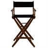 "American Trails Extra-Wide Premium 30""  Directors Chair Mission Oak Frame W/Black Color Cover"