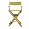 "24"" Director's Chair Natural Frame-Olive Canvas"