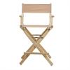 "24"" Director's Chair Natural Frame-Tan Canvas"