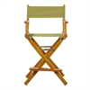 "24"" Director's Chair Honey Oak Frame-Olive Canvas"