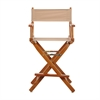 "24"" Director's Chair Honey Oak Frame-Tan Canvas"