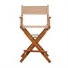 "24"" Director's Chair Honey Oak Frame-Tan Canvas"