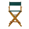 "24"" Director's Chair Honey Oak Frame-Hunter Green Canvas"