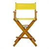 "24"" Director's Chair Honey Oak Frame-Royal Blue Canvas"
